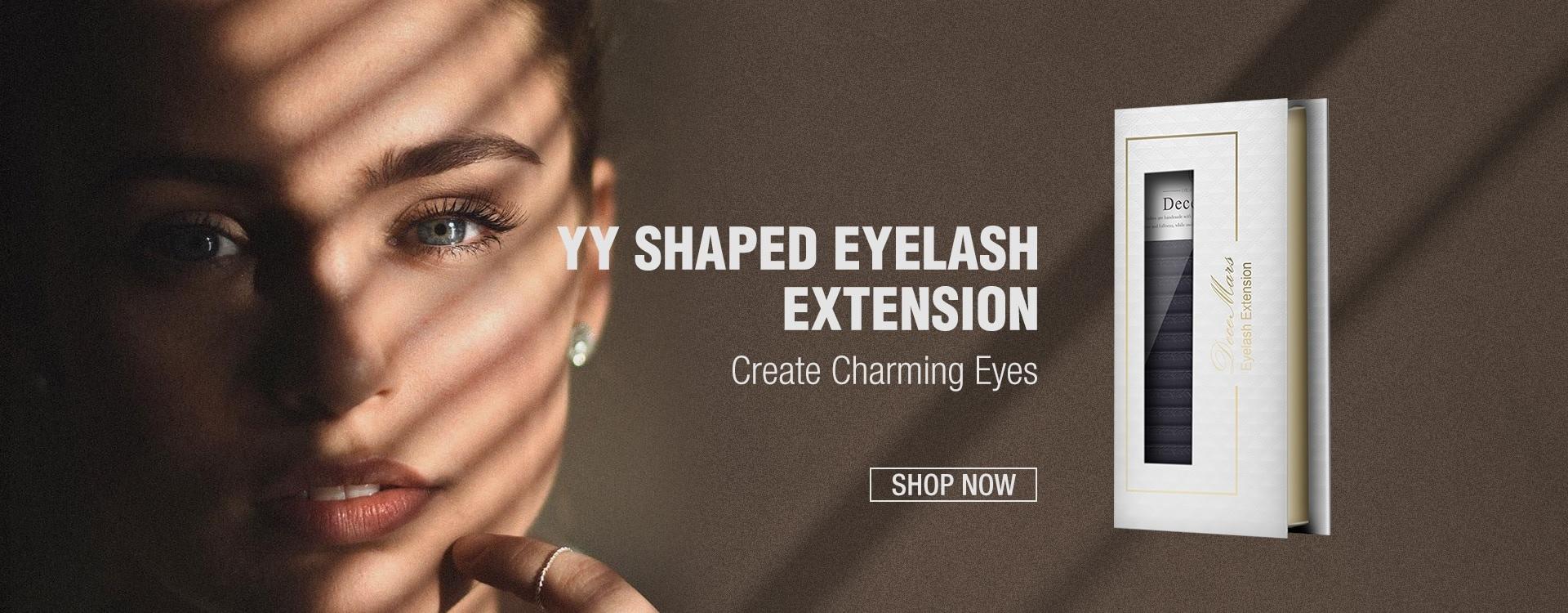 yy-shaped-eyelash-extensions